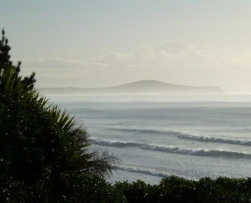 Moeraki beach